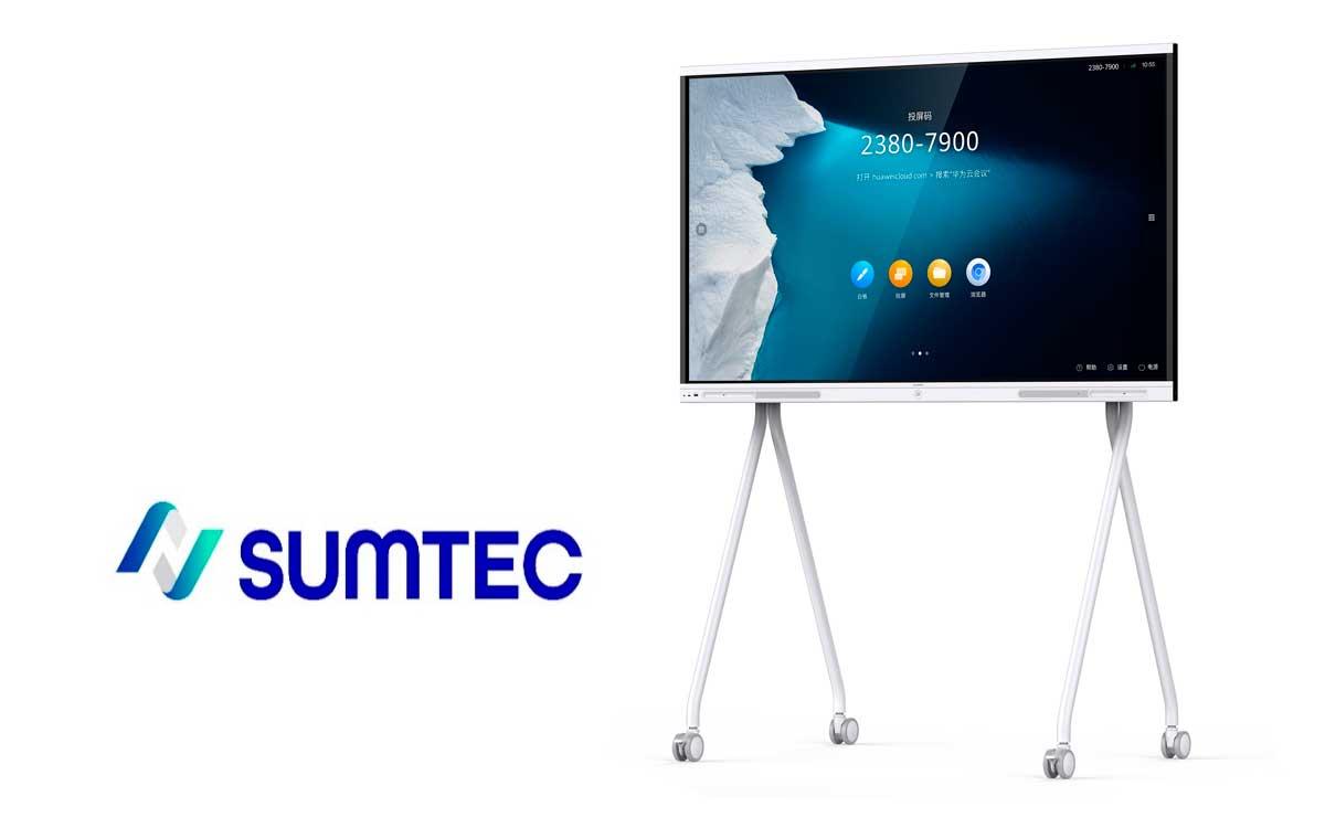 sumtec-presenta-nueva-pizarra-interactiva-ideahub-board-de-huawei