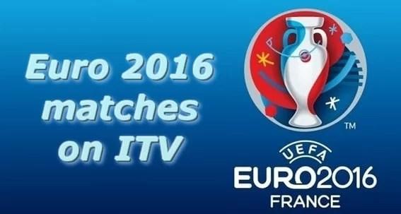 euro 2016 matches on ITV