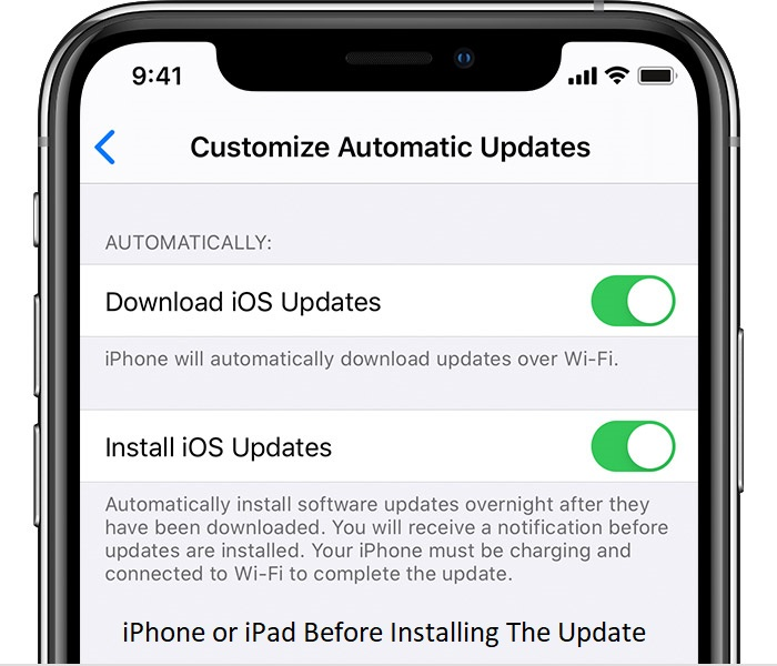 Ready Your iPhone or iPad Before Installing The Update