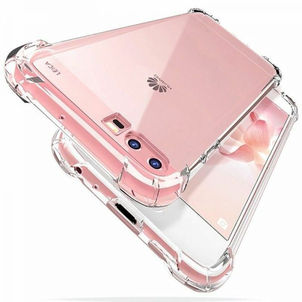 Huawei Y6 2019 mobile cover - Bumper Edges Anti Shock Phone Case