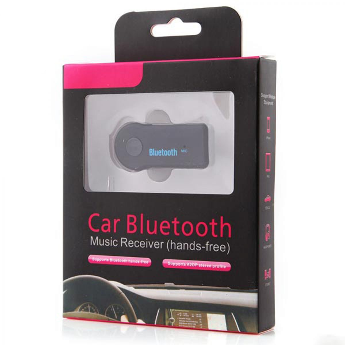 3.5mm Car Bluetooth Music Receiver Adapter Dongle