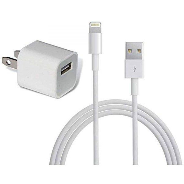 Apple iPhone XS 5W USB Power Adapter Lightning To USB Cable