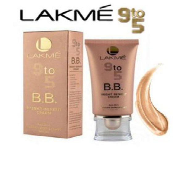 Lakme 9 To 5 Bright Benefit Cream All In 1 Instant Skin Stylist SPF 20 - 1R25J