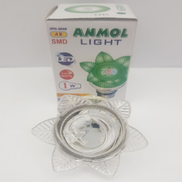Anmol Green Flower Style LED Light 1W - C3S2O