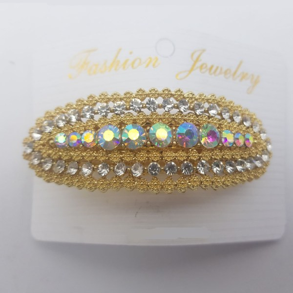 Yellow Unique Style Shining Hair Clip JC80 - 1U2S5