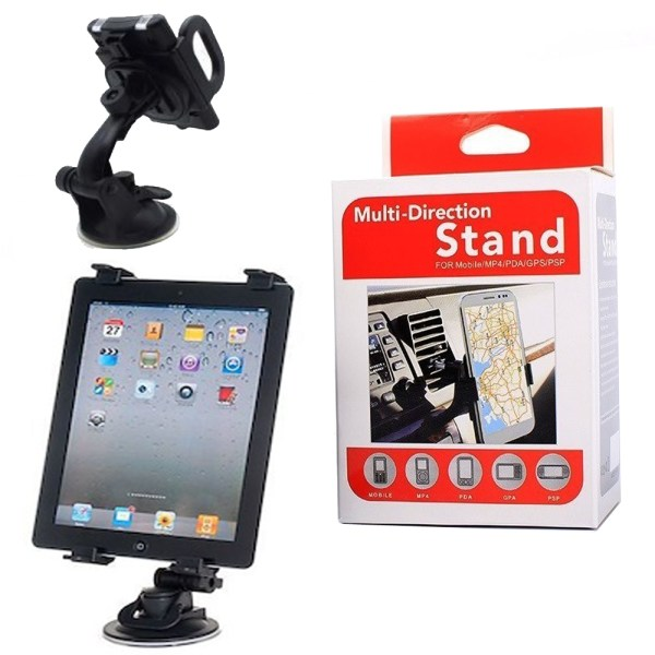 Multi-Direction Car Mount Holder Stand for Mobile MP4/PDA/GPS/PSP-T1S50