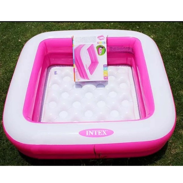 Intex Pink Inflatable Swimming Pool For Kids 57100 - KP995