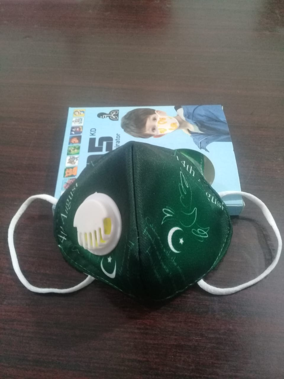 3 to 8 years 14 August Style N95 Mask for Kids, boys & Girls fm 14g