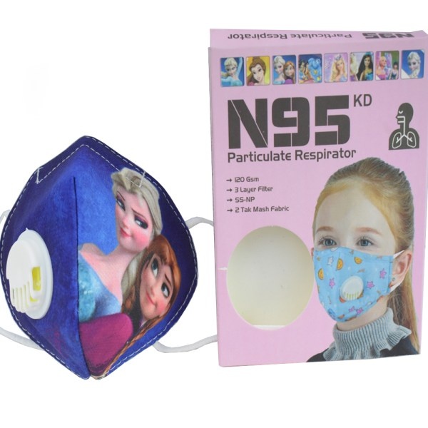 8 to 16 years Barbie Cartoon Character N95 Mask