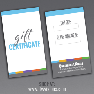 rodan and fields gift certificate, rf gift card