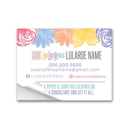 lularoe stickers for mailing