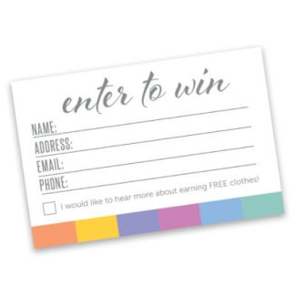 lularoe instant download printable enter to win raffle