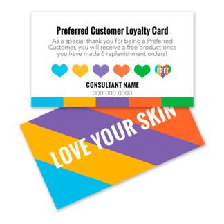 rodan and fields preferred customer loyalty card