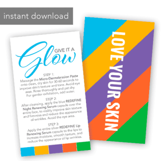 rodan and fields instant download mini facial instructions rf colors