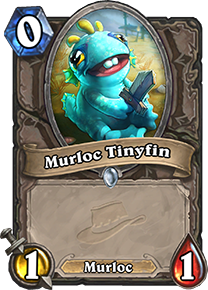 Hearthstone Murloc Tinyfin