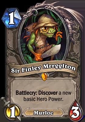 Hearthstone Sir Finley Mrrggiton