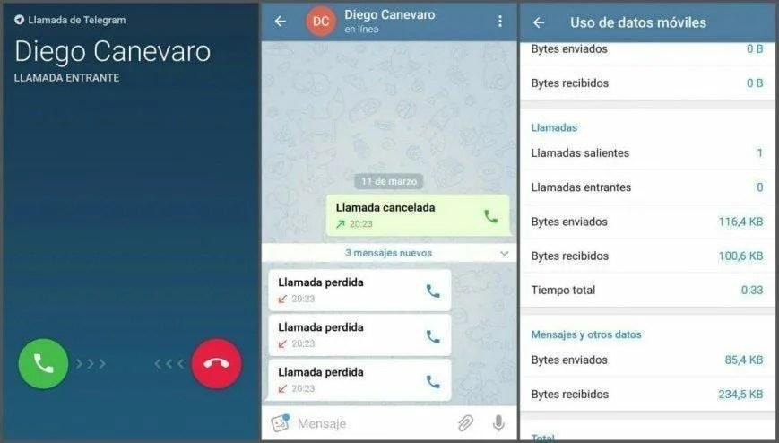 Через Telegram для iPhone и андроид сейчас можно исполнять голосовые вызовы