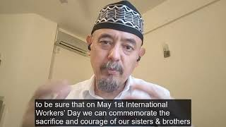 Regional Secretary's solidarity message on International Workers' Day – 1 May 2021