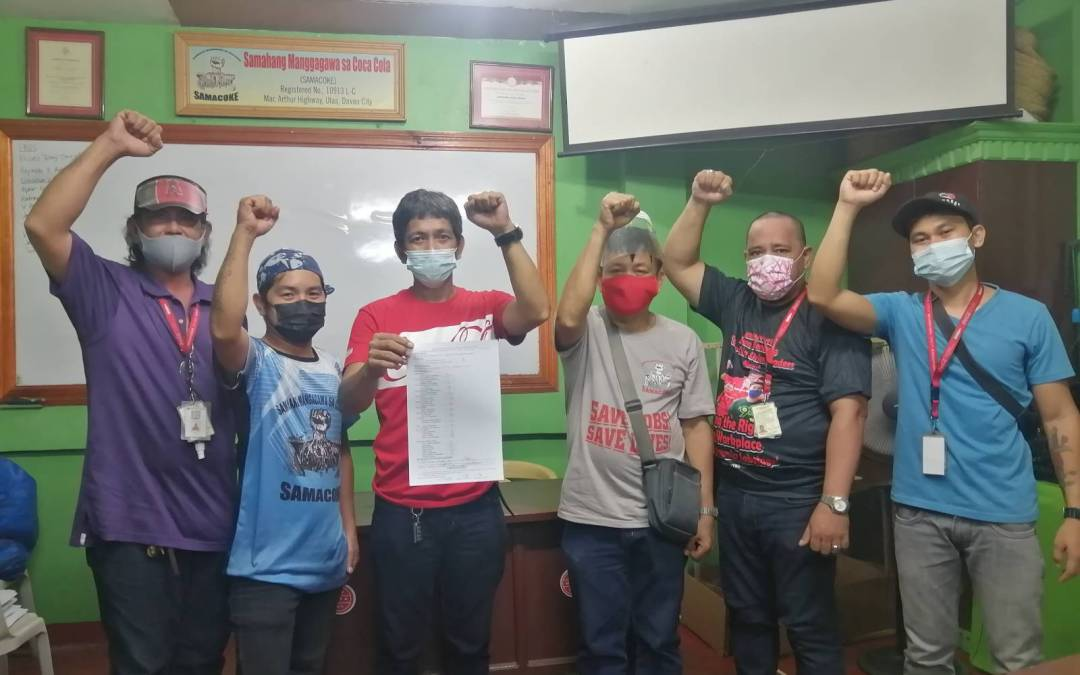 """Coca-Cola Philippines workers overcome """"red tagging"""" fear in victory for independent unions"""