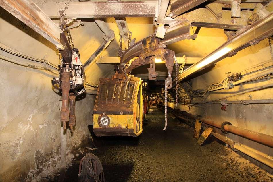 Důl Centrum - závěsná dráha.