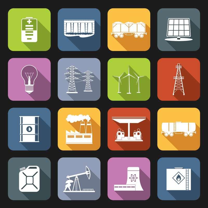 Energy Icons ASEK