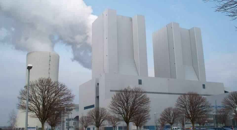 Elektrárna Lippendorf Foto commons wikimedia org