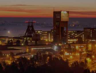 Protesty polských horníků