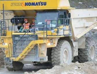 V dolech bude řádit obří elektromobil