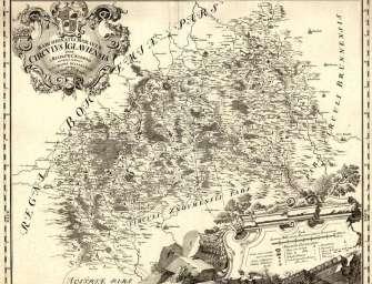 Důlní mapy ukazují historii těžby