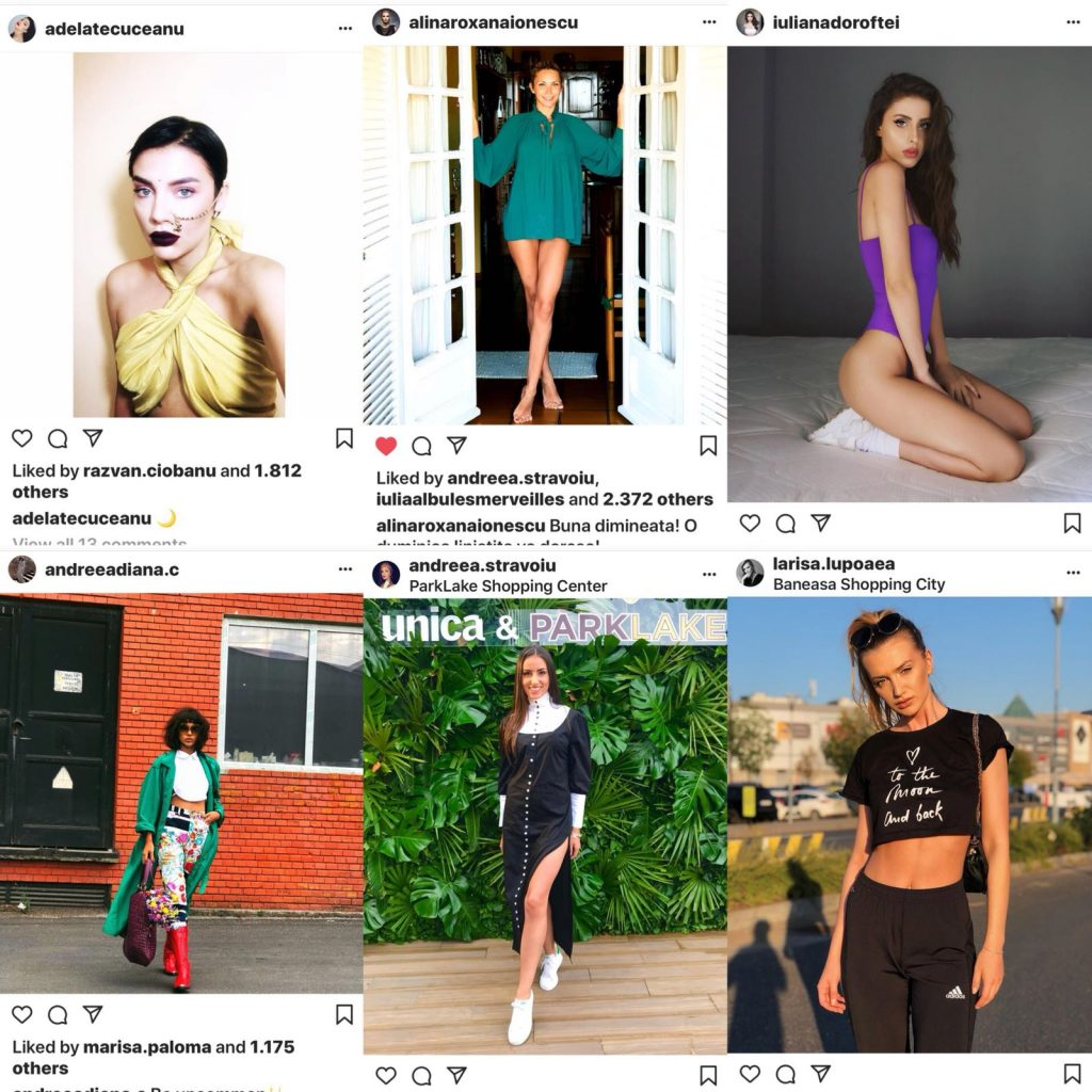 "Adela Tecuceanu, Alina Ionescu, Iuliana Doroftei, Andreea Diana C, Larisa Lupoaea si Andreea Stravoiu, fostele concurente ""Bravo, ai stil!"", sunt in pas cu moda"