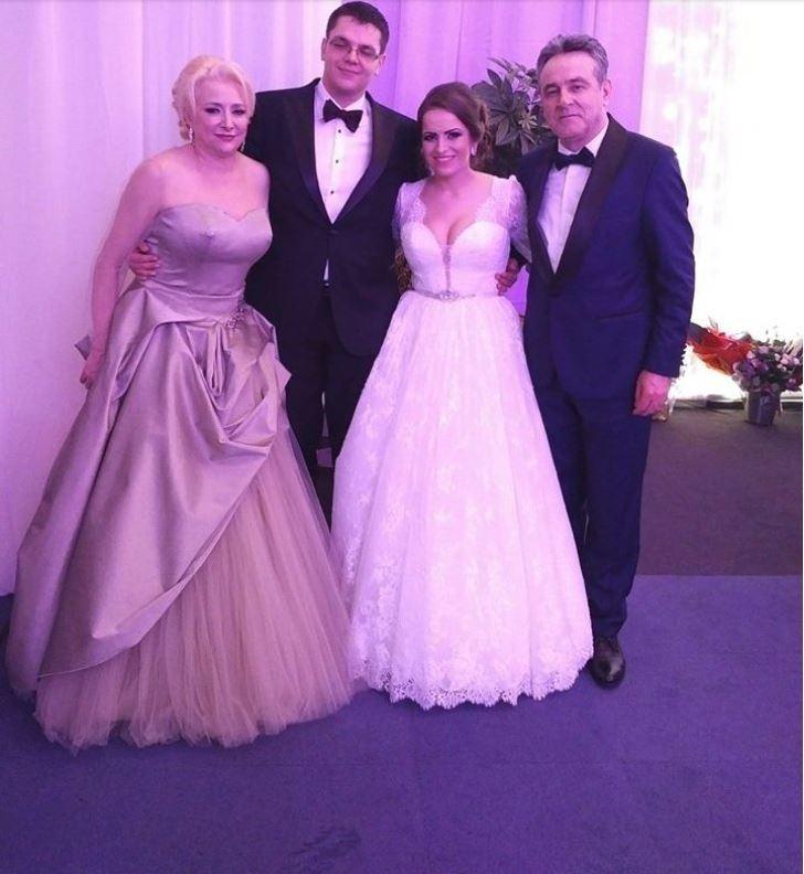 Viorica Dăncilă la nunta fiului ei, acum doi ani