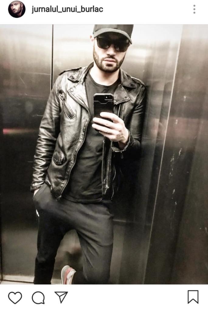 Mihai Bendeac s-a pozat în lift