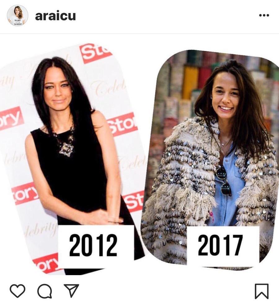 Andreea Raicu a postat un colaj de poze