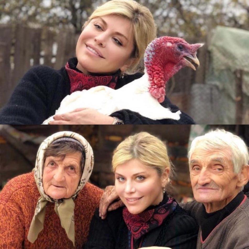 Loredana Groza alături de rude