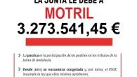 Izquierda Unida está llevando a cabo en Andalucía una campaña en la que denuncia que Susana Díaz tiene intervenidos los ayuntamientos andaluces de facto con el impago de esta deuda con las negativas consecuencias que éste supone para las actuaciones de los gobiernos locales. En la provincia de Granada la deuda con sus ayuntamientos alcanza 52 millones de euros.