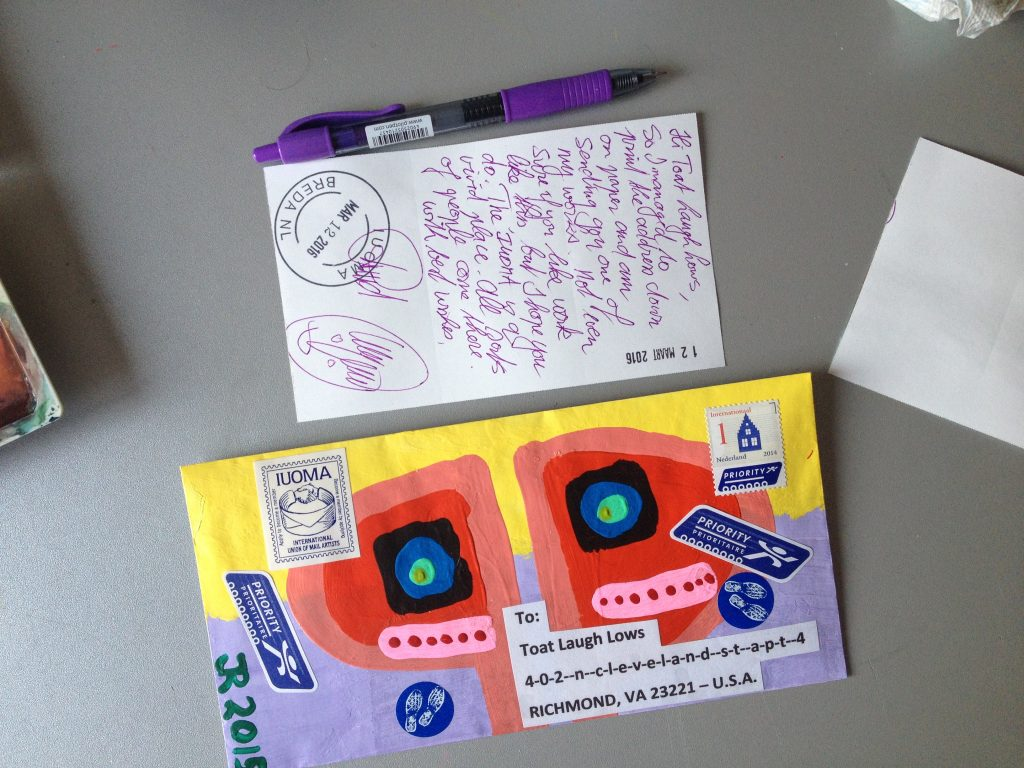 Mail Art Outgoing Visual