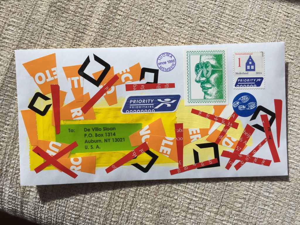 Visual Art Mail Outgoing