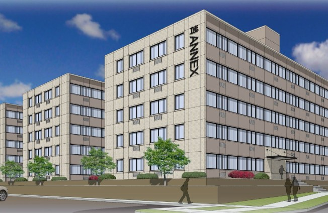 A digital rendering of The Annex of South Bend. Photo courtsey of Mecca Companies