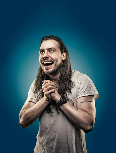 Andrew W.K., famous for his bloody nose and party life style, will be performing in South Bend September 23. Photo by JonathanThorpe