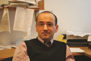 Matthew Costello, psychology professor at IUSB Preface photo/Nick Wort