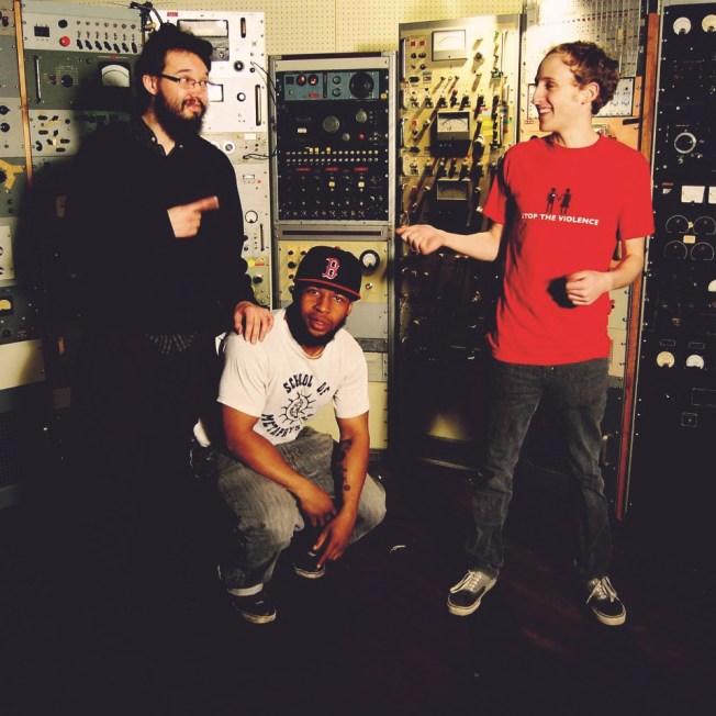 From left Arthur Schroeder, Billy Easton, Eli Kahn  Photo courtesy of The B.E.A.T.