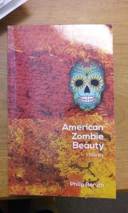 "Cover of ""American Zombie Beauty"" designed by IU South Bend graduate. Photo Credit/Rachel Nuner"