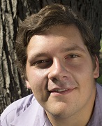 Student-playwright Brad Pontius, writer of this adaption of The Legend of John Henry. Photo Credit/Brad Pontius