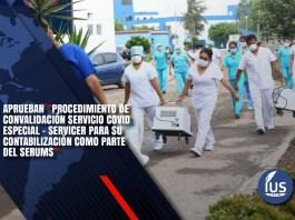 rocedimiento de convalidación del Servicio COVID Especial