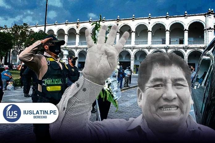 Arequipa: fallece congresista Hipólito Chaiña