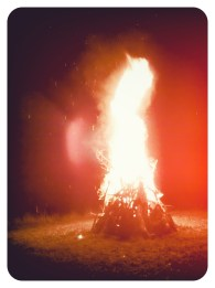 """""""Bonfire, Burning Man Style""""- Submitted by Teresa Lynch"""