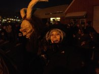 """Alexis and a Krampus""- Submitted by Dustin Ritchea"