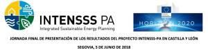 Jornada final de INTENSSS-PA en Castilla y León (Segovia, 5 de junio)