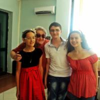 Drita and students
