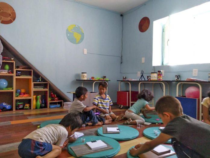 Albergue de niños intervenido, en San Juan de Dios
